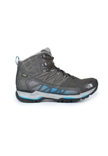 The North Face grey TNF M Ultra Gtx Surround Mid Belgagry/Algrsblu 165EASH0E6A780GS_1