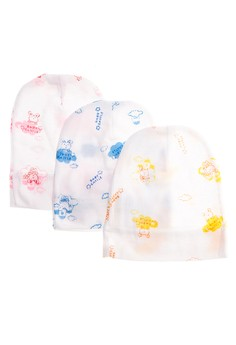 BONNET BABY CASTLE (SET OF 6)