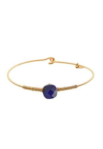 Dear Addison gold Something Blue Bangle D6675AC35BFBE4GS_1