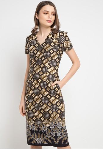 Batik Putra Bengawan black and multi Dress Kp Navita Kl Bc Pb B1D56AAEC142E3GS_1