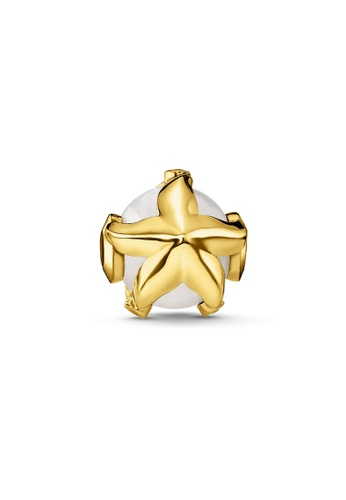 "THOMAS SABO beige Bead ""starfish"" 2001FACD785C68GS_1"