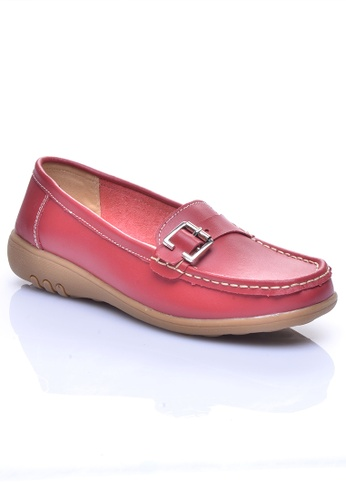 LENO red ABBEY Loafer - LS36537 LE122SH19TUAMY_1