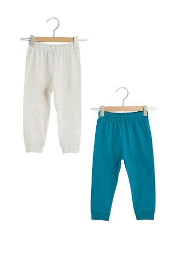 LC Waikiki green Pyjamas Bottom 2 Pieces 0B111KAE99AA03GS_1