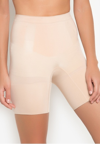 Spanx beige OnCore Mid-Thigh Short SP273US47BJWPH_1