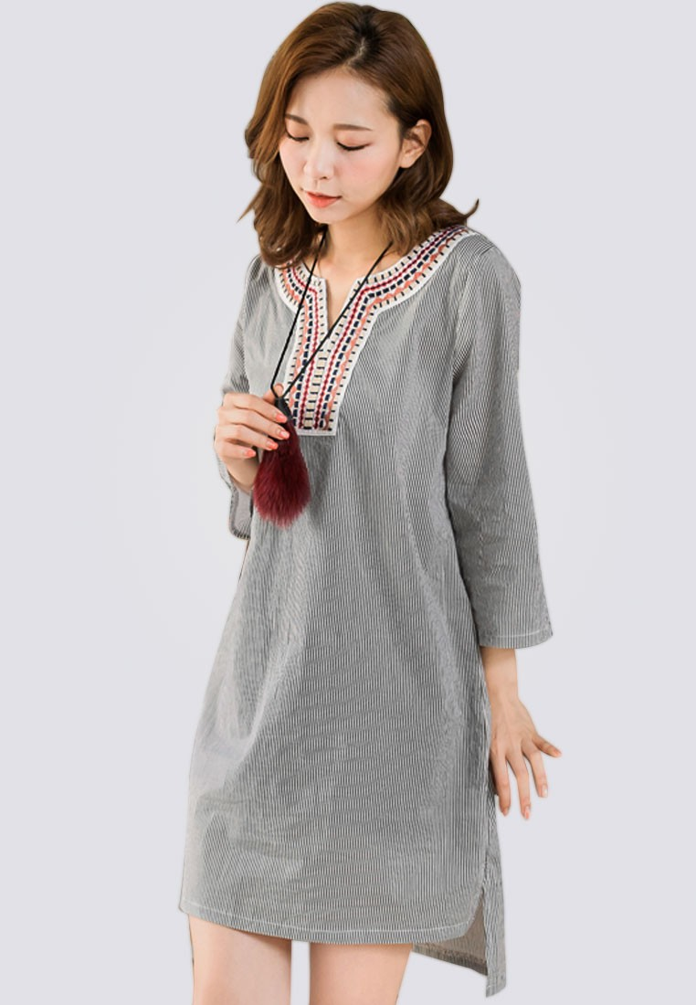 Grooving Summer Tunic Dress