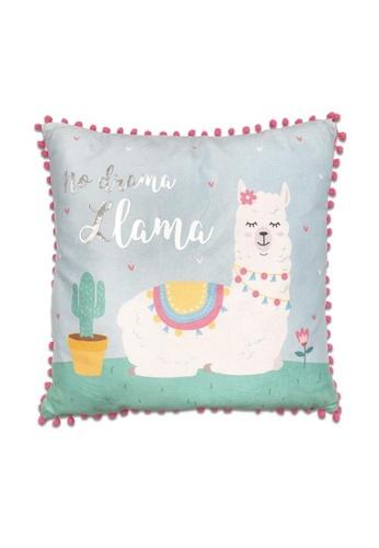 Klosh Cushion - Llama Magical Collection B9490HL8ACD394GS_1
