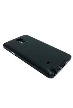 Ultra Tough Shockproof Case For Samsung Note 4 (Black)