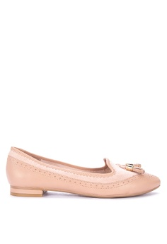 53990dff884 Dune London pink Gambie Loafers 5D505SH629B120GS 1
