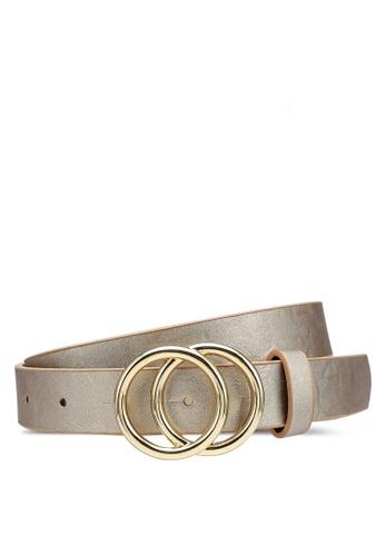 ONLY gold Rasmi Faux Leather Jeans Belt 31B2BAC4C9C216GS_1