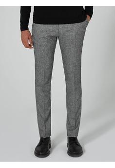 Topman grey Grey Salt And Pepper Ultra Skinny Fit Suit Pants  27D9FAA613980BGS_1