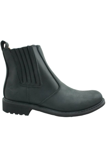 midzone black SCORPION Genuine Leather Boots 6ABFFSH658B6DCGS_1