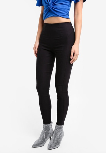 Miss Selfridge black Bengaline Trousers MI665AA0SS6RMY_1