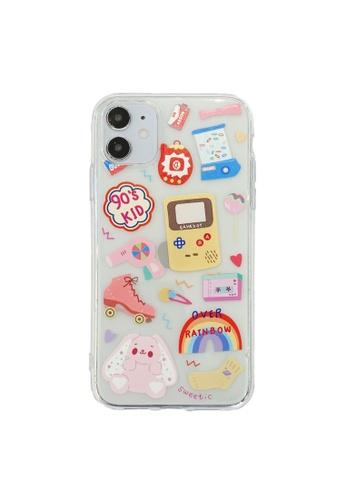 Kings Collection white Cute Toy iPhone 12 Pro Case DE1CEAC411FE80GS_1