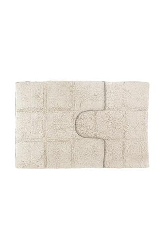 Charles Millen Charles Millen Suite Collection Tera 2PC 100% Cotton Tufted Bath Rug / Bath Mat 50x50, 50x80cm/ 0.975g. D5C8EHL5029428GS_1