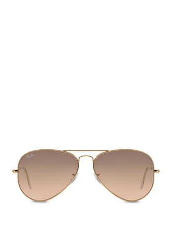 6084250623a41 Buy Ray-Ban Aviator Large Metal RB3025 Sunglasses Online on ZALORA ...