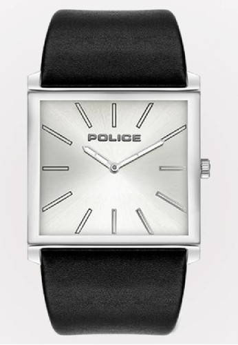 Police black and silver Jam Tangan Pria Kulit Police PL.16024MS04 Original 4CF56AC2F0333EGS_1