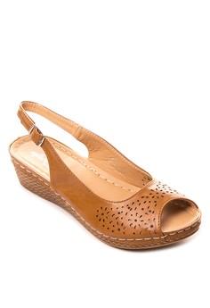 Gianna Wedge Sandals