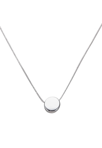 NATALIE & PEPPER silver Angelina Necklace 65F43AC84CE867GS_1