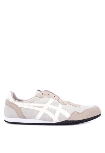 Onitsuka Tiger multi and beige Serrano Slip-On Sneakers 176F7SH1E7A177GS_1
