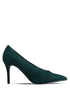 d4e7b95bb Dorothy Perkins green Green Microfiber Gatsby Court Heels C4D04SHDC8A2A4GS 1