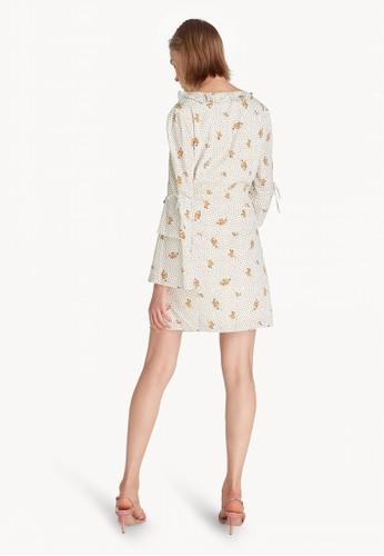 Jual Pomelo Mini Cut Out Frill Dress - White Original ...
