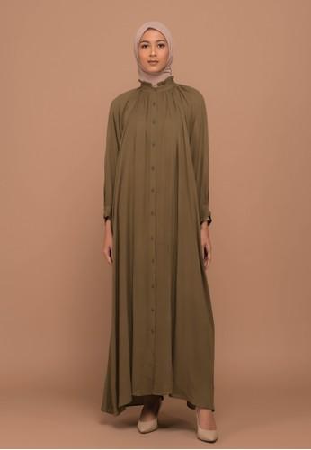 Tufine green Balqis Dress 6D0C1AAAE05E9DGS_1