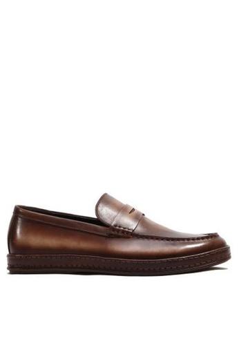 Twenty Eight Shoes 真皮復古樂福鞋75-5 1CAB5SH48D5DE6GS_1