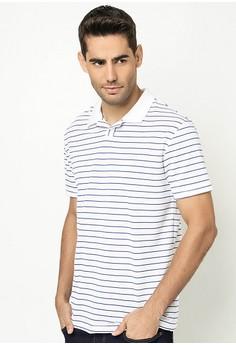 Men's Polo Shirt with Stripes