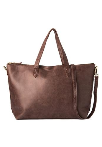 Costal Leather Bags brown Harper Crossbody Tote CO233AC0JK3MPH_1