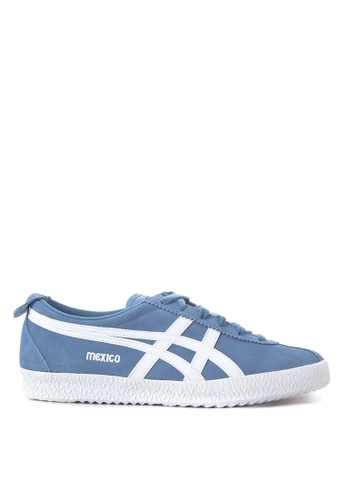 Onitsuka Tiger white and blue Mexico Delegation Sneakers ON625SH18TIJPH_1