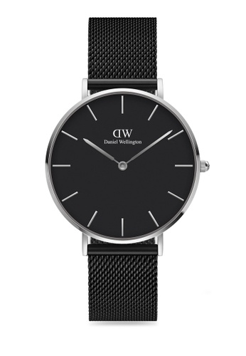 Daniel Wellington black Petite Ashfield Black 36mm Silver Watch 4CEBCAC470A43DGS_1