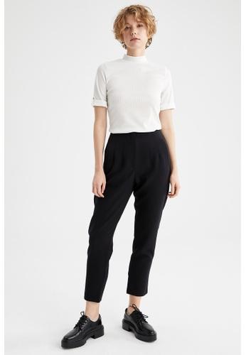 DeFacto beige Woman Knitted Short Sleeve T-Shirt EE699AA876E28FGS_1