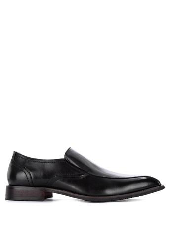 Gibi black Wax 014 Side Garter Formal Shoes DD8D2SH49ECCEAGS_1