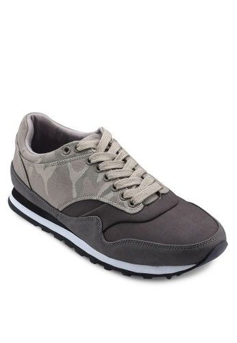 Camo Printed Sneakers, 鞋, esprit 高雄鞋