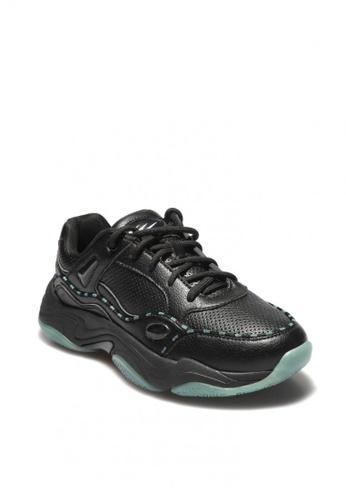 World Balance black Huxley Ladies Athleisure Shoes 69F2CSH860520DGS_1
