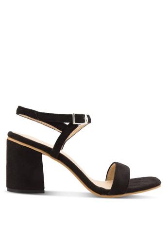 Open Toe Sandals With Block Heels