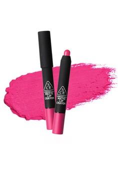 3CE Matte Lip Crayon - Terriffic
