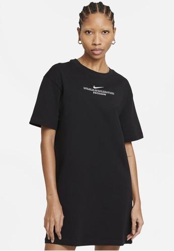 Nike black Women's Sportswear Swoosh Dress C0394AAAE0057DGS_1