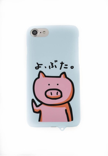Fancy Cellphone Cases multi Pig Hard Case for iPhone7 FA644AC0JY56PH_1