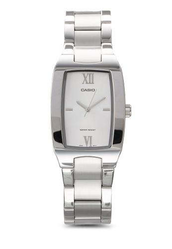 Casio silver Casio Enticer Analog White Dial Men's Watch CA843AC93JPQMY_1