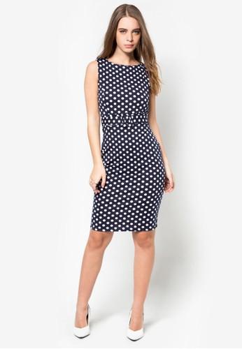 點點腰帶洋裝, 服飾zalora鞋子評價, 洋裝