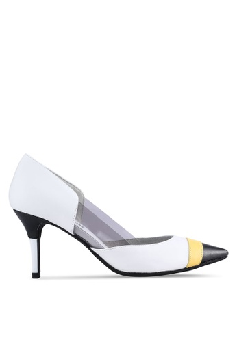 House of Avenues white Pointy Heels HO685SH43CDGMY_1