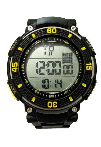 Lucky JX black Casual Waterproof Luminous Men Digital Watch 32198AC4A0E1E8GS_1
