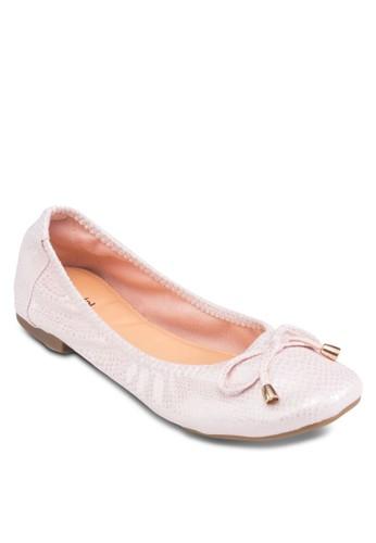 方頭蝴蝶結平底鞋, 女esprit 鞋鞋, 鞋