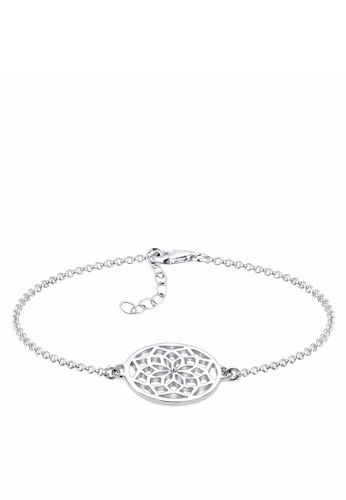 Elli Germany silver 925 Sterling Silver Gold-Plated Dreamcatcher Bracelet EL474AC57GPEMY_1