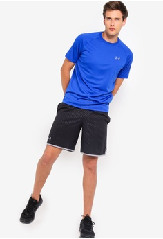 Fitness, Running & Yoga Blue Self-Conscious Puma Pr Core 9 Inch Mens Running Shorts