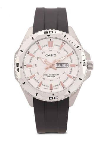 Casio black Casio Analog Watch CA843AC0S3HSMY_1