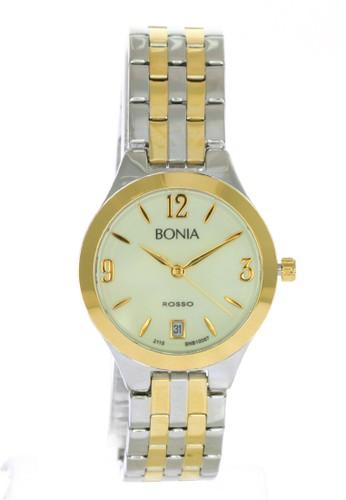 BONIA gold and silver Bonia Rosso - BR10067-2125 - Jam Tangan Wanita - Silver Gold 3BF39AC08FE975GS_1