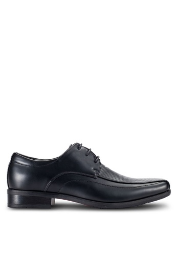 Louis Cuppers black Formal Lace-Up Shoes LO977SH41RCSMY_1