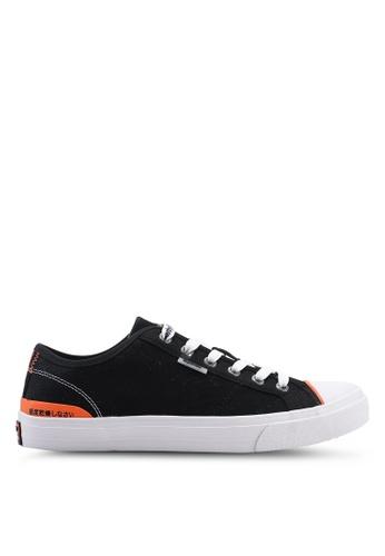Superdry 黑色 Trophy 經典Low 運動鞋 4CEAFSH3E6DD95GS_1